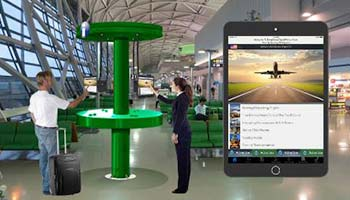 Digital Directory Menus For Airports
