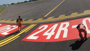 Color-Safe® Durable MMA Airfield Markings