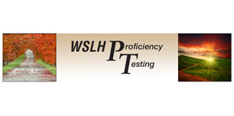 WSLH Proficiency Testing