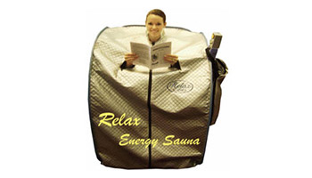 RELAX SIT-UP & LIE DOWN SAUNAS FROM RELAX SAUNAS OF MOMENTUM98