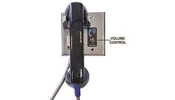 ADA COMPLIANT VISITATION HANDSET WITH 4-LEVELS