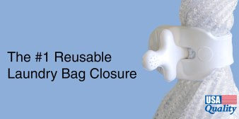 The #1 Reusable Laundry Bag Closure