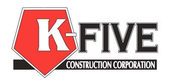 K-FIVE CONSTRUCTION CORP.