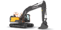 Meet Volvo's new 20-ton class crawler excavator: The Powerful EC200E