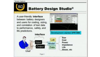BATTERY DESIGN STUDIO®
