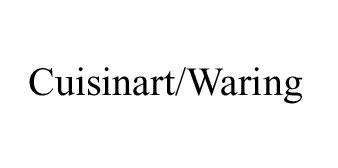 Cuisinart/Waring