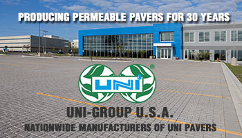 UNI ECO-OPTILOC® PERMEABLE CONCRETE PAVERS