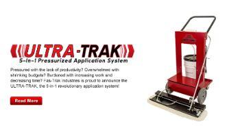 ULTRA-TRAK 5-in-1 Pressurized Application System