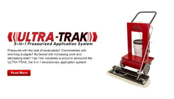 ULTRA-TRAK 5-in-1 Pressurized Application System