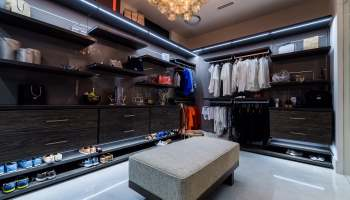 Contemporary Custom Closets