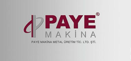 Paye Makina Ve Metal Uretim Tic. Ltd. Sti.