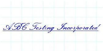ABC Testing Inc