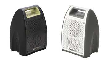 BULLFROG® OUTDOOR BLUETOOTH SPEAKERS FROM KICKER