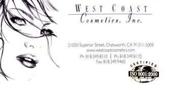 West Coast Cosmetics Inc.