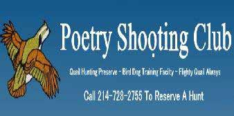 Poetry Shooting Club