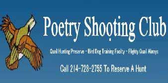 Poetry Shooting Club