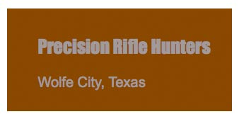 Precision Rifle Hunters