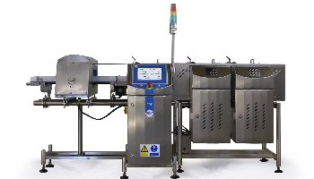 Combination Metal Detection and Checkweigher Systems