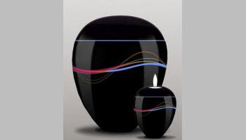 Ondine Set- Urn and Candle Holder