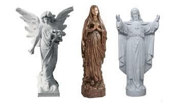 Statues from Rossato Giovanni srl
