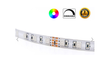 COLOUR BRILLIANT RGB STRIP LIGHTS, SMD5050 300 LEDS IP65