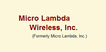 Micro Lambda Wireless Inc