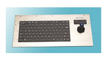 NEMA 4X Panel Mount Industrial Keyboards w/ Industrial Mouse™ Pointer