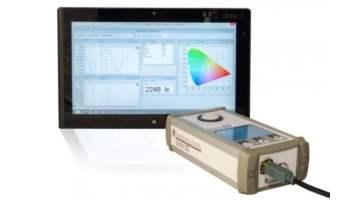 BTS256-EF Spectral light meter with flicker