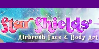 Star Shields Airbrush Face & Body Art