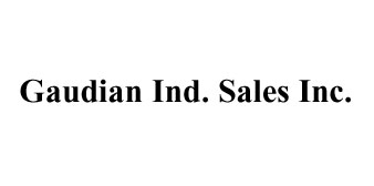 GAUDIAN INDUSTRIAL SALES, INC.
