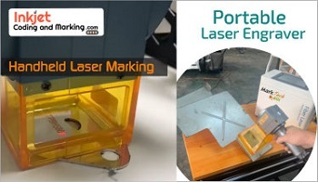 PORTABLE LASER ENGRAVER FROM  INKJET CODING AND MARKING
