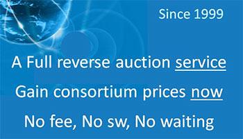 Sorcity eBid Service & Consortium Prices