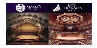 Massey Hall & Roy Thomson Hall