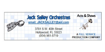 Jack Salley Orchestras & Shows