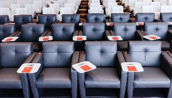 Personalized Tech Tablet Chairs CORT Events