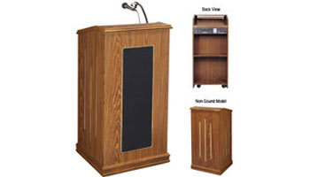 Podium with Sound System