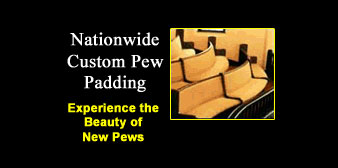 Nationwide Custom Pew Padding
