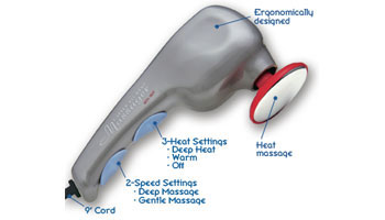 Wahl  2-Speed All-Body Massager with Heat