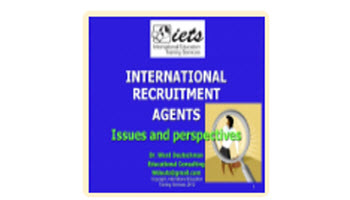 Working with Recruiting Agents and Agencies