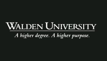 Walden University       A higher degree. A higher purpose.