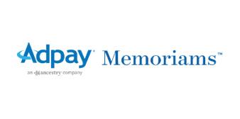 Adpay | Memoriams, an Ancestry company