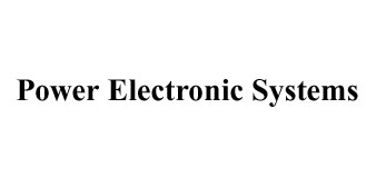 Power Electronic Systems Inc