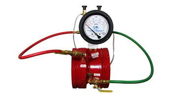 Global Vision Fire Pump test meters / Zonecheck