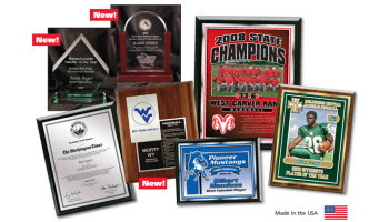 Custom Plaques - 5 Styles to Choose From!