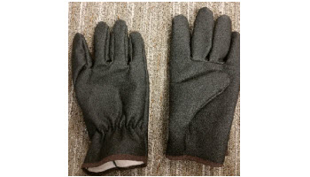 Black Winter Tough Gloves
