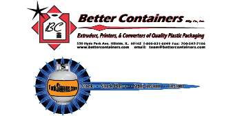 Better Containers Mfg. Co. Inc.