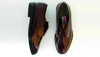 Capital - 90065 - Brown Shiny Air-Lite Oxford
