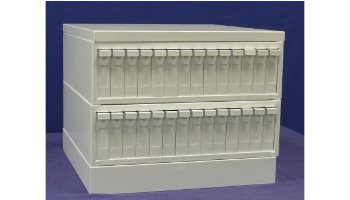 14 Drawer Slide Storage Cabinet