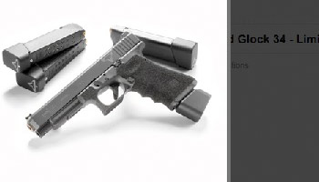 Taran Tactical Customized Glock 43-Limited