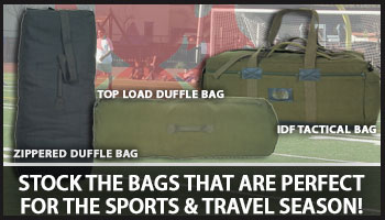 Great Bags for the Travel & Sports Season!
